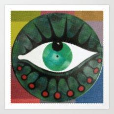 occhio yap 03 Art Print
