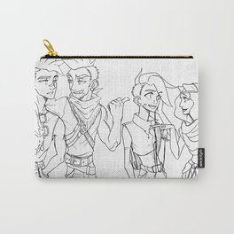 Silent Scream Carry-All Pouch