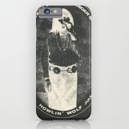 affiche dan hicks and his hot licks howlin iPhone Case