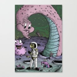No Signs of Intelligent Life Canvas Print