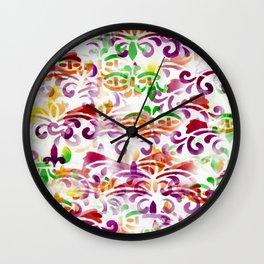 Dappled Pattern 2 Wall Clock