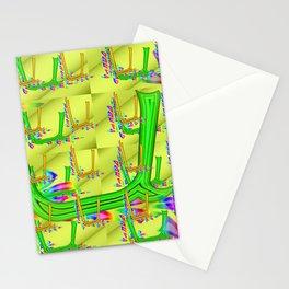 U - pattern 2 Stationery Cards