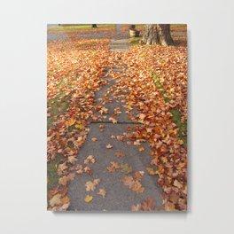Templeton Sidewalk Metal Print