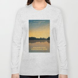 Balsam Lake Provincial Park Long Sleeve T-shirt