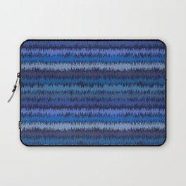 Ikat Stripes in Blue Laptop Sleeve