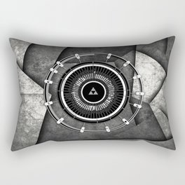 Abstract Circle Of Zelda Rectangular Pillow