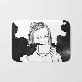 Magical coffee. Bath Mat