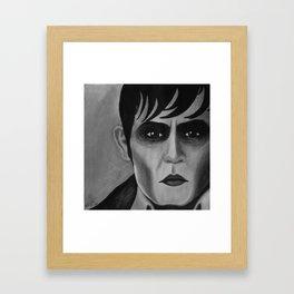 Barnabas Collins - Dark Shadows - Johnny Depp Framed Art Print