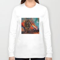 iron man Long Sleeve T-shirts featuring iron man by ururuty