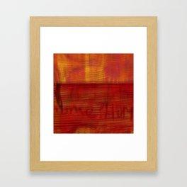 The Grand Fishing Tour 2K15 17b Framed Art Print