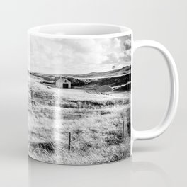 Little House in the Dutch Dunes | Coast | Callantsoog, The Netherlands | Black & White | Travel Photography | Photo Print | Art Print Coffee Mug