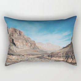 West Rim, Grand Canyon Rectangular Pillow