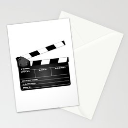 Clapperboard Stationery Cards