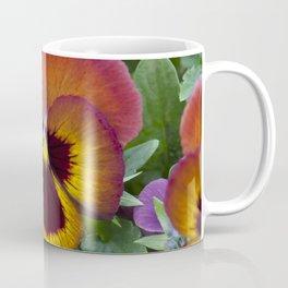 Pansy Painted Coffee Mug