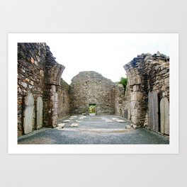 Ruins of Cathedral of St. Peter and St. Paul Art Print