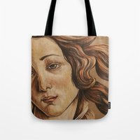 venus Tote Bags featuring Venus  by Ashley Anderson