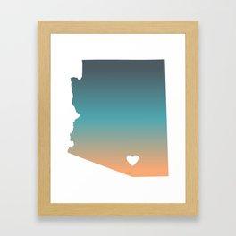 Arizona - Tucson Framed Art Print