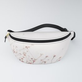 Pink Wild Flowers Fanny Pack