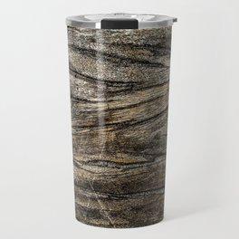 lines in wood Travel Mug