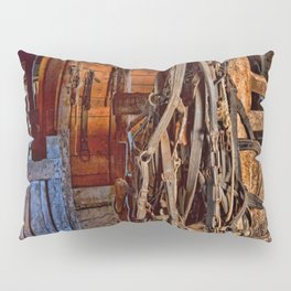 Draft Horse Harness Pillow Sham