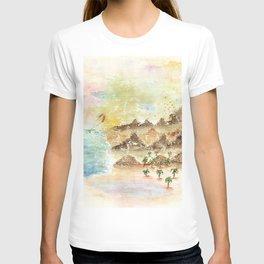 Landscape Nature Watercolor Art T-shirt