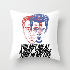 strange time in my life Throw Pillow