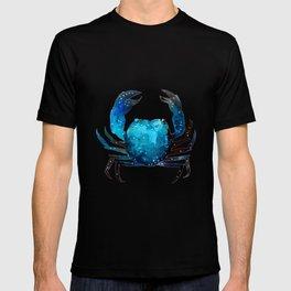 Cerulean blue Crustacean T-shirt