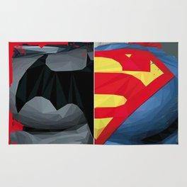 Gotham V Krypton Rug