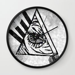 All Seeing Wall Clock