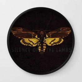 Hannibal Death's-head Hawkmoth  Wall Clock