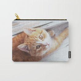 Cute cat Kristofferson Carry-All Pouch