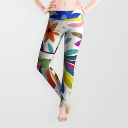 otomi bird Leggings