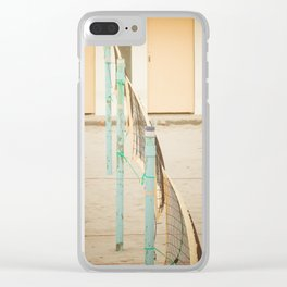 Volley Beach Clear iPhone Case