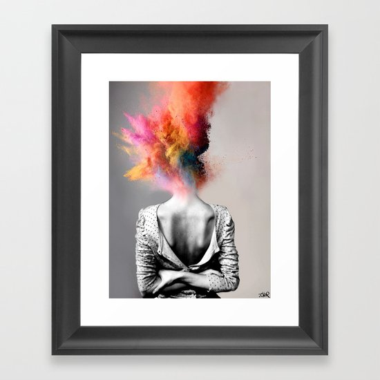 a certain kind of magic framed art print by louijoverart