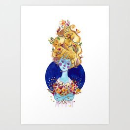 The Cold Winter Art Print