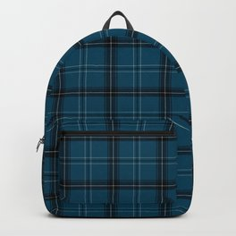 Sea buffalo plaid Backpack