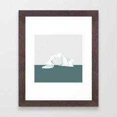 ISBJERG #04 Framed Art Print