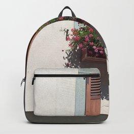 Alpine Village Window Flower Box Backpack