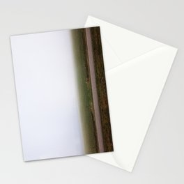 Foggy field, Netherlands Stationery Cards