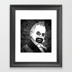 15. Zombie James Buchanan  Framed Art Print