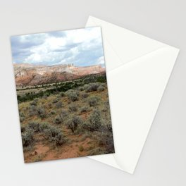Mesas of New Mexico, on the Road from Chama to Santa Fe Stationery Cards