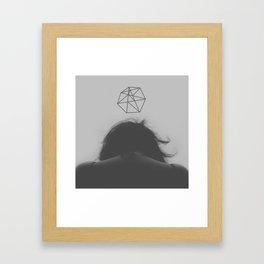 Girl I'm Not Your Savior Framed Art Print