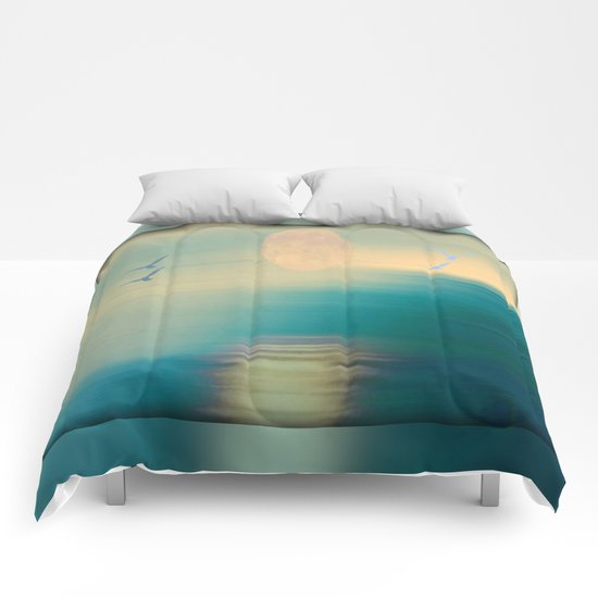 Tranquil Waters - Painterly Comforters