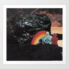 Rock of Love Art Print