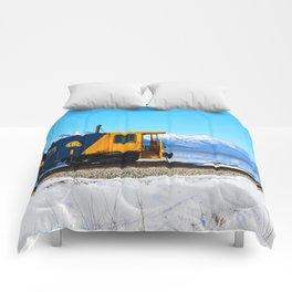 Caboose - Alaska Train Comforters