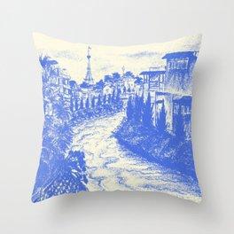 Dalat city Throw Pillow