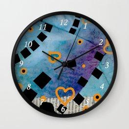 Quadratum 02 bis Wall Clock