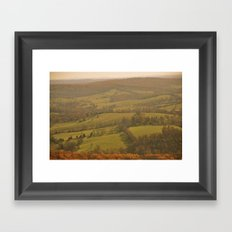 Natty Bumppo's View Framed Art Print