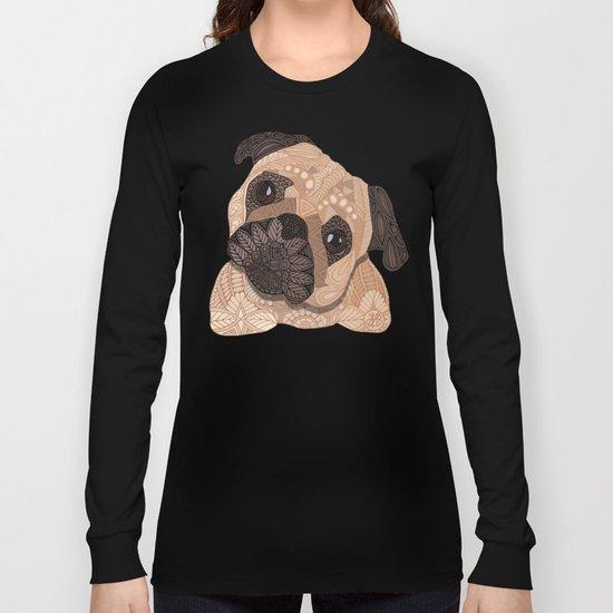 Pug Hug Long Sleeve T-shirt