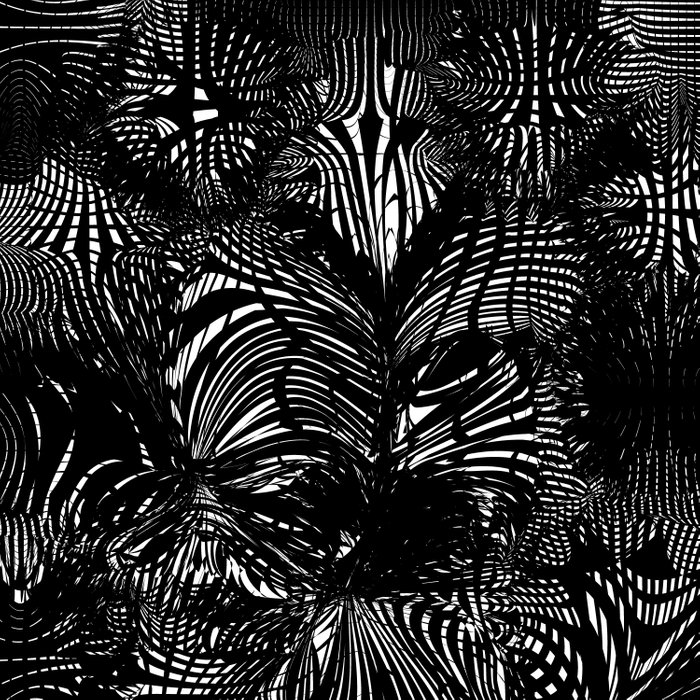 black stripes chaos Comforters
